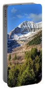 First Snow On Mt. Timpanogos - Utah Portable Battery Charger