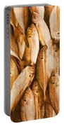 Fish Pattern On Wood Portable Battery Charger