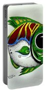 Fish Study 2 Portable Battery Charger