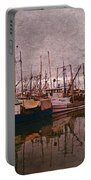 Fishing Boats Of Steveston-ca Portable Battery Charger