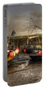 Fishing Boats On The Cobb Portable Battery Charger