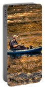 Fishing The Golden Hour Portable Battery Charger