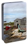 Fishing Village In Nova Scotia Portable Battery Charger