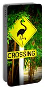 Flamingo Crossing Portable Battery Charger