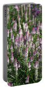 Flamingo Feather Flowers Portable Battery Charger