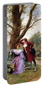 Flirtation Portable Battery Charger by Georges Jules Auguste Cain