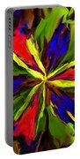 Floral Abstraction 090312 Portable Battery Charger