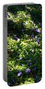 Floral Carpet Portable Battery Charger
