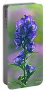 Floral Crystal Portable Battery Charger