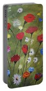 Floral Fields Portable Battery Charger