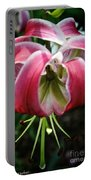 Floral Fist Portable Battery Charger