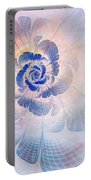 Floral Impression Portable Battery Charger