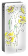 Floral Paintings 2 Portable Battery Charger