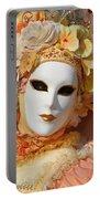 Floral Queen Portrait 2 Portable Battery Charger