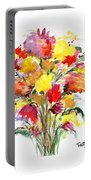 Floral Seven Portable Battery Charger