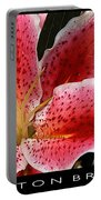Floral Textures I Portable Battery Charger