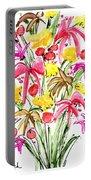 Floral Twelve Portable Battery Charger