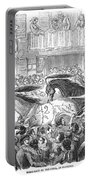 Florence: Horse Race, 1857 Portable Battery Charger