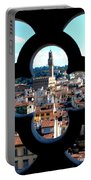 Florence Through A Unique Lens Portable Battery Charger