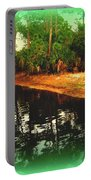 Florida Landscape Portable Battery Charger by Susanne Van Hulst