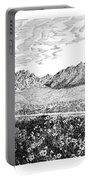 Florida Mountains And Poppies Portable Battery Charger by Jack Pumphrey