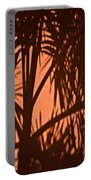 Florida Palm Shadow Portable Battery Charger