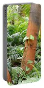 Florida Palms And Ferns Portable Battery Charger