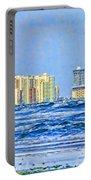 Florida Turbulence Portable Battery Charger by Deborah Benoit