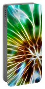 Flower - Dandelion Tears - Abstract Portable Battery Charger