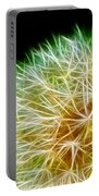 Flower - Forbidden Planet - Abstract Portable Battery Charger