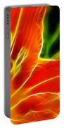 Flower - Lily 1 - Abstract Portable Battery Charger