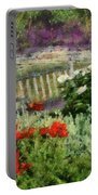 Flower - Poppy - Poppies  Portable Battery Charger
