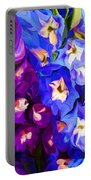 Flower Arrangement 012812 Portable Battery Charger by David Lane
