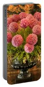 Flower Arrangement Chateau Chenonceau Portable Battery Charger