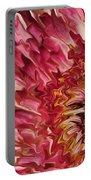 Flower Art Portable Battery Charger