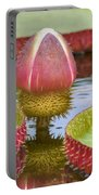Victoria Amazonica Bud Portable Battery Charger
