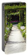 Flower Garden - Digital Painting Portable Battery Charger