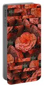 Flower Garden Delightful Portable Battery Charger