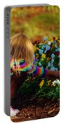 Flower Girl Portable Battery Charger