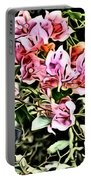 Flower Painting 0003 Portable Battery Charger