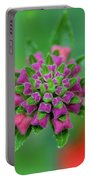 Flower Pop Portable Battery Charger