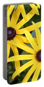 Flower Rudbeckia Fulgida In Full Portable Battery Charger