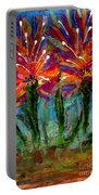 Flower Towers Portable Battery Charger