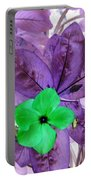 Flower1 Portable Battery Charger