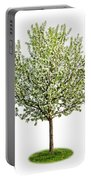 Flowering Apple Tree Portable Battery Charger