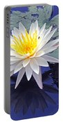 Flowering Lily-pad- St Marks Fl Portable Battery Charger