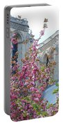 Flowering Notre Dame Portable Battery Charger