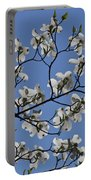 Flowering White Dogwood Portable Battery Charger