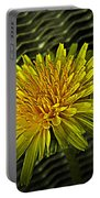 Flowers Are Weeds With Respect Portable Battery Charger
