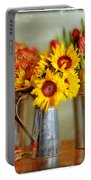 Flowers In Cans Portable Battery Charger